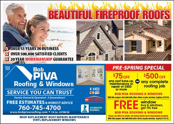 Roofing & Windows Specials
