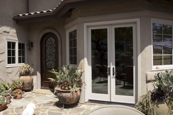 Vinyl Patio French Door