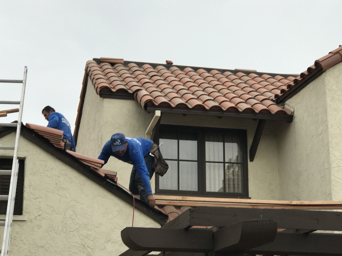 Boral Clay Tile Roofing in Rancho Bernardo